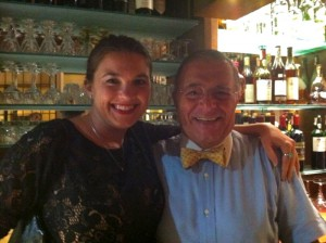 Corte di Bacco was my Cheers because of Signor Monte...kind, generous and a heart of gold.